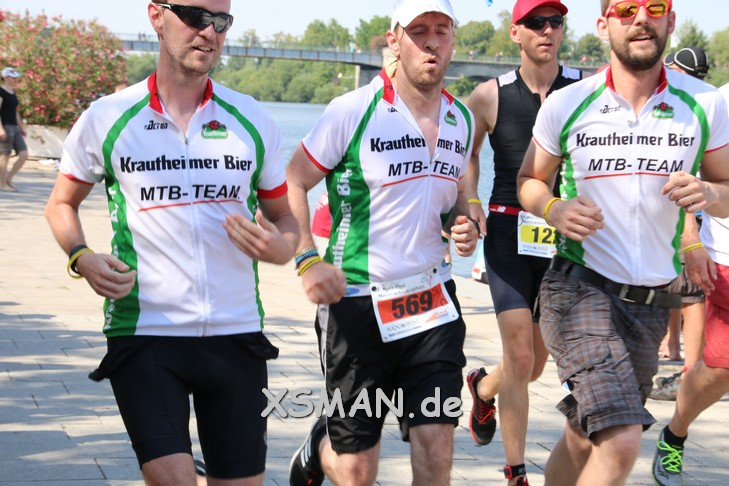 MTB TEAM beim Mainfranken Triathlon